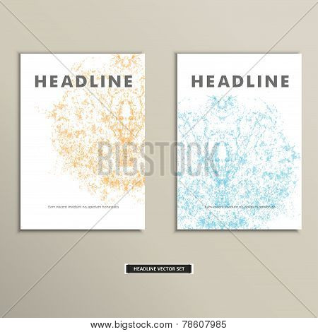 Complex creative color pattern. Vector eps 10