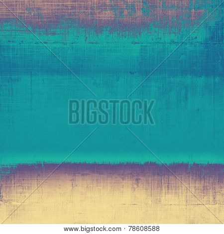 Designed grunge texture or background. With different color patterns: yellow; purple (violet); brown; blue; cyan