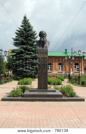 Monument of Tolstoy
