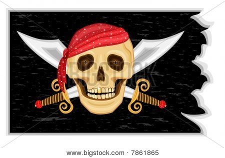 Jolly Roger - pirate flag
