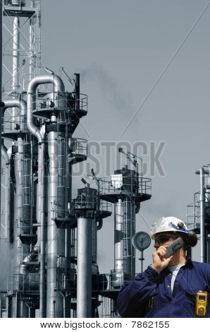 engineer, fuel and oil industry