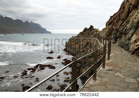 Roque de las Bodegas, Tenerife, Canary islands, Spain