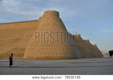 Fotress Ark In Bukhara