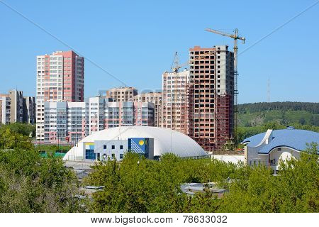 Kemerovo, View From Universitetsky Bridge
