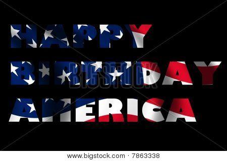 Happy Brithday America