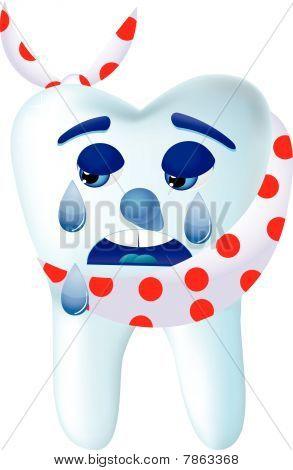 Desenho de dente 4