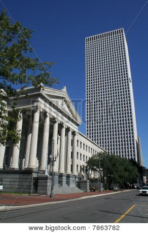 Gallier Hall in Downtown New Orleans