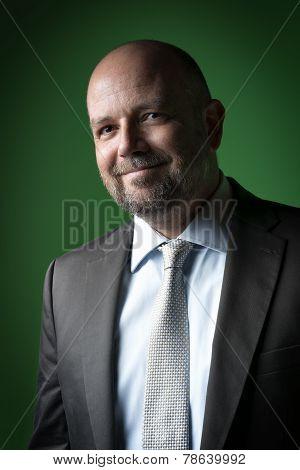 Pleasant Business Man