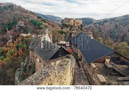 Ruin Aggstein In Lower Austria