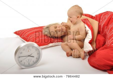 Baby Waking Up Mummy