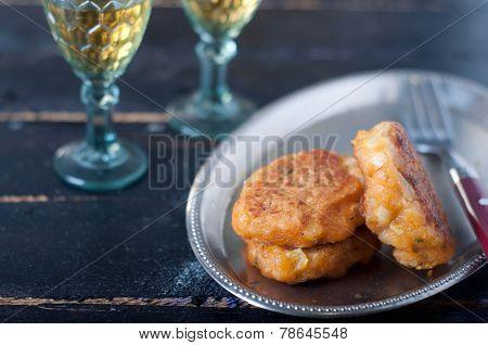 Fish fingers and fishcake burgers
