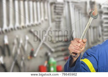 worker on the shop floor