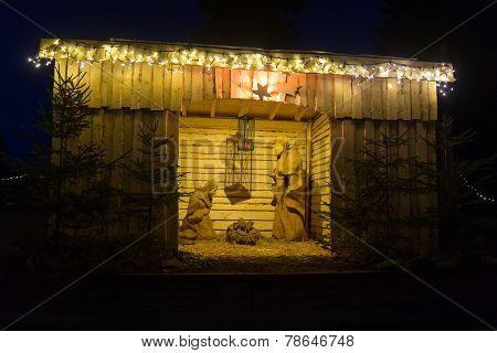 Crib At Night