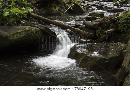rapid mountain stream