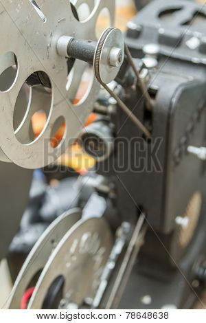 Vintage Film Editing Machine