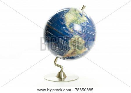 World Globe Spinning