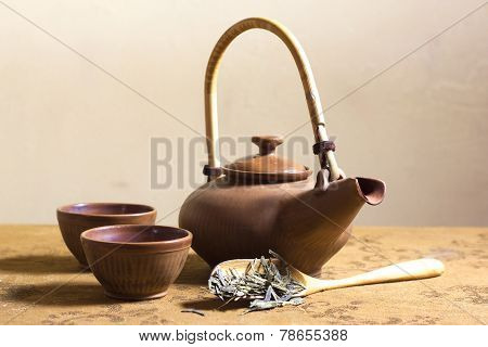 Japanese Tea Set Still Life