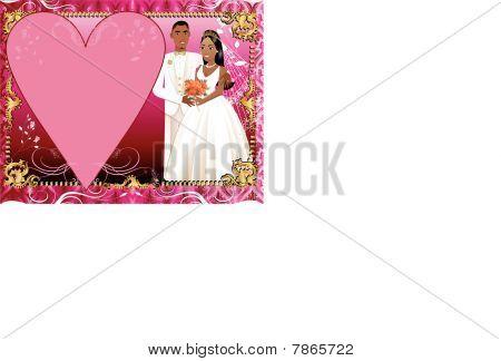 Wedding Invitation Template Couple