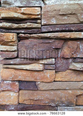Stone Wall Veneer Texture