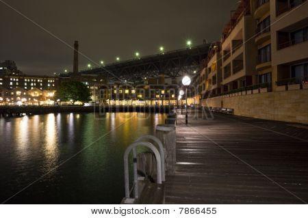 Sydney Circular Keys At Night