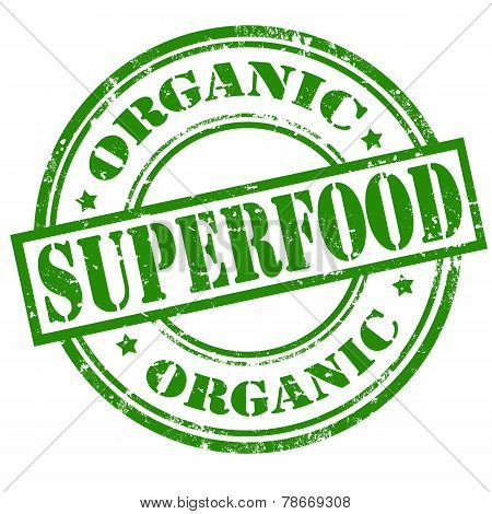 Organic Superfood stamp