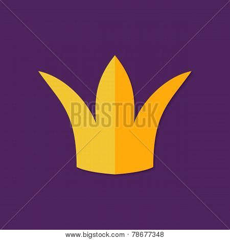 Christmas Crown Flat Icon