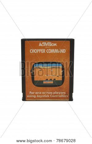 Atari 2600 Chopper Command Cartridge
