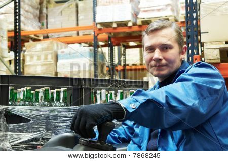 Warehouse Forklift Driver
