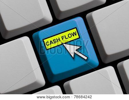 Computer keyboard Cash flow