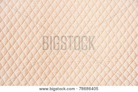 Beige quilt background