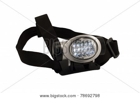 HeadLamp at white background