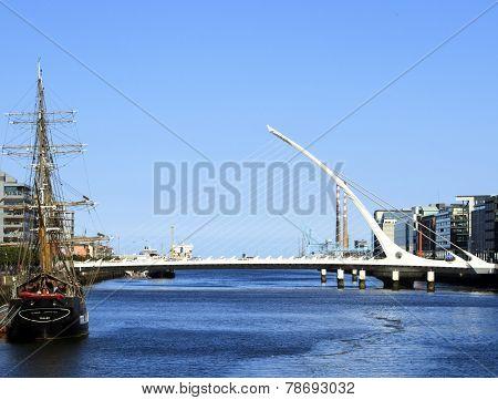 The River Liffey, Dublin, Ireland