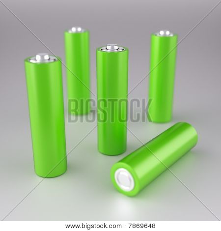 Green Aa Batteries