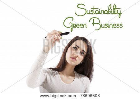 Sustainability And Green Business.