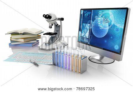 biochemistry lab equipment