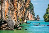 picture of james bond island  - Landscapes of Phang Nga National Park in Thailand - JPG