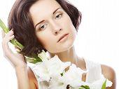 pic of gladiolus  - Close - JPG