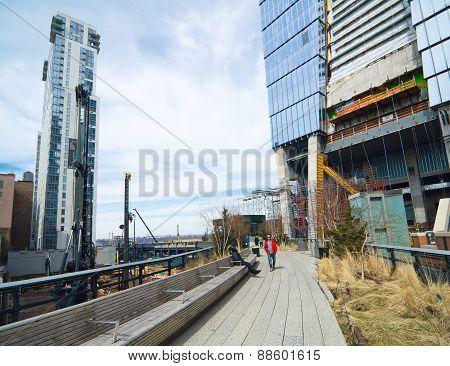 The Manhattan New York High Line Park