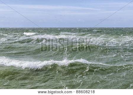 Waves Of The Baltic Sea