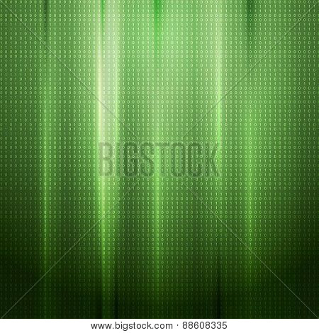 Bright abstract tech background. Vector design