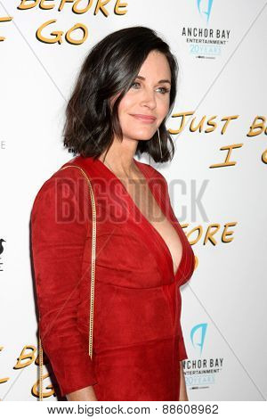 LOS ANGELES - FEB 20:  Courteney Cox at the