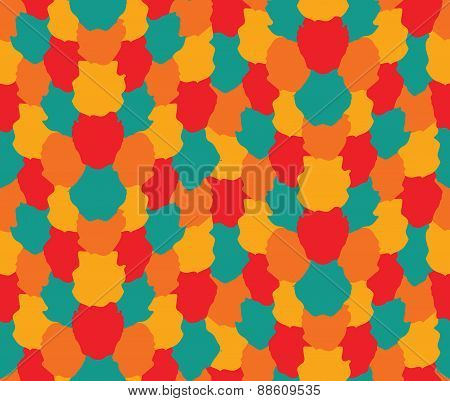 Colorful Blots Pattern