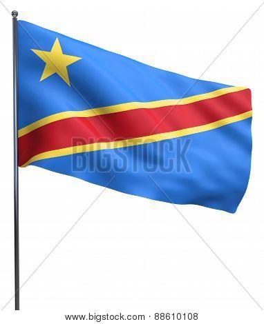 Congo Flag Image