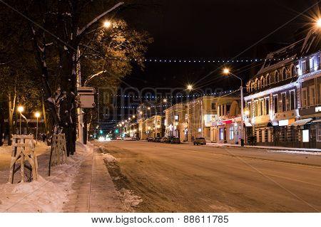 Night Festive City