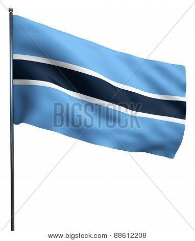 Botswana Flag Image