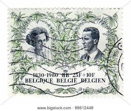 Belgian Independence Postage Stamp