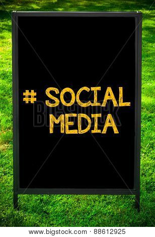 Hashtag Social Media