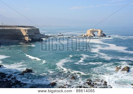 La Portada (arch Rock) In Antofagasta, Chile