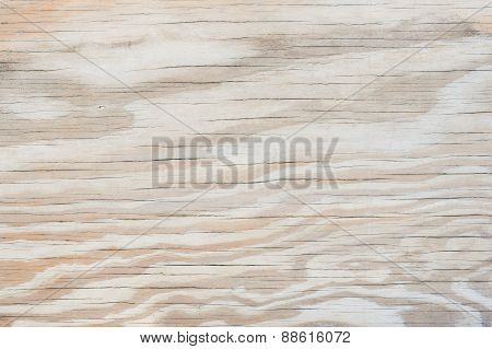Old plywood background texture with cracks