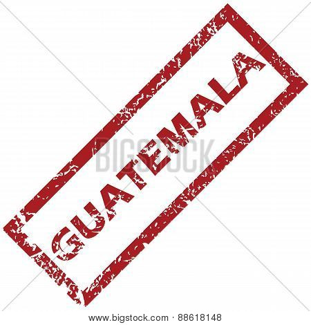 New Guatemala rubber stamp